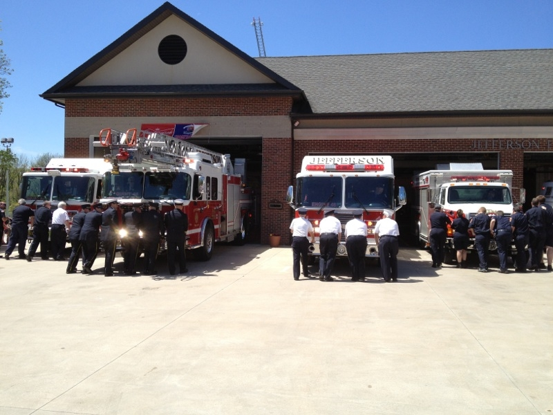 Jefferson Fire Company Puchases New Rosenbauer Ladder