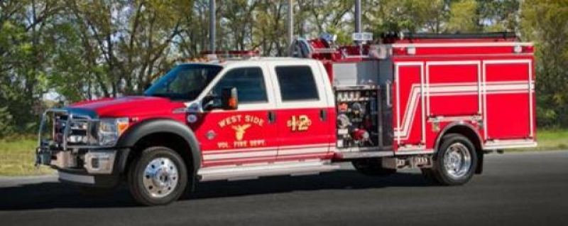 West Side Maryland Puchases New Pierce F-550 Mini