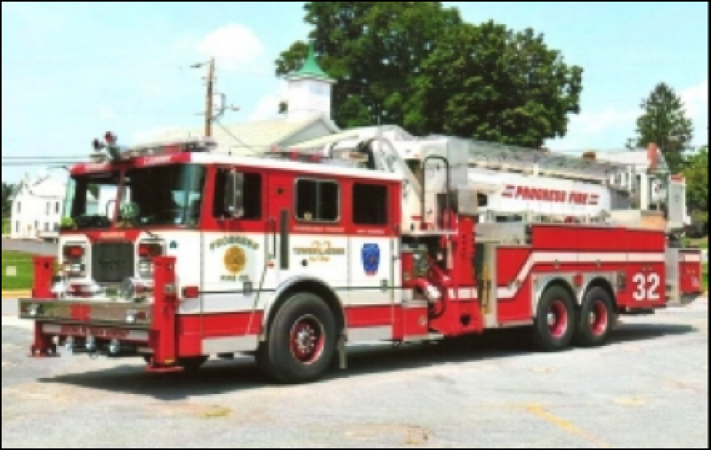 Progress Purchases New Pierce Pumper